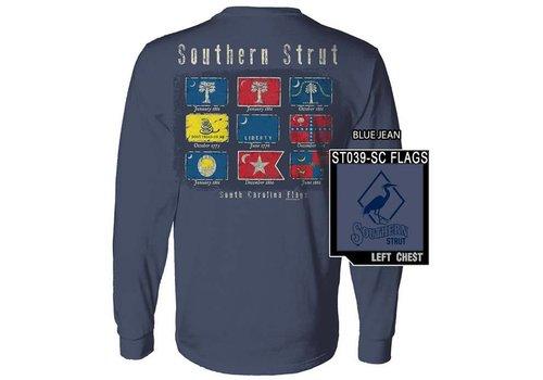 Southern Strut Southern Strut SC Flags L/S