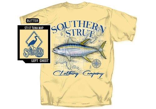Southern Strut Southern Strut Tuna Map