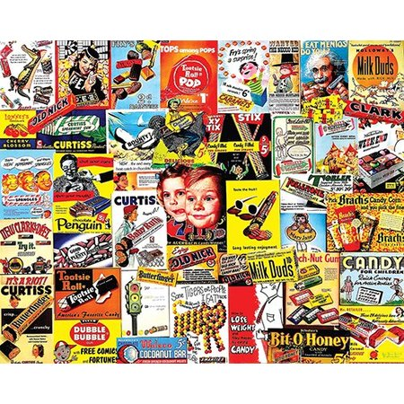 Old Time Candy 1000 PC JIGSAW PUZZLE