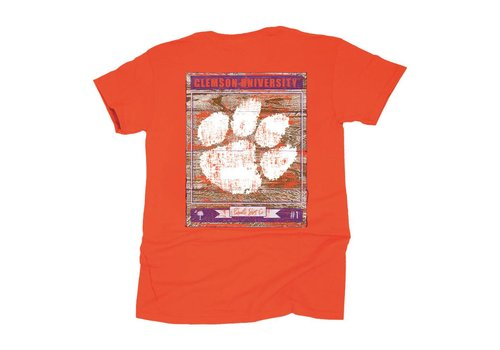 Clemson Wooden Sign T-shirt