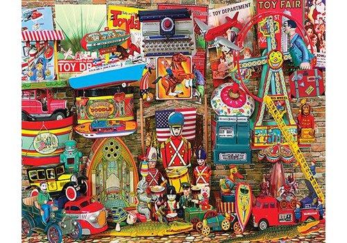 Antique Toys 1000 PC JIGSAW PUZZLE