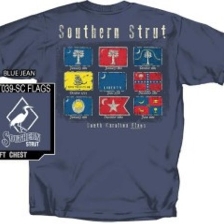 Southern Strut SC Flags