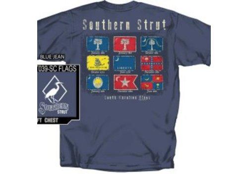 Southern Strut Southern Strut SC Flags