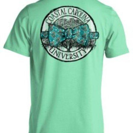Coastal Carolina Bow Tie T-shirt