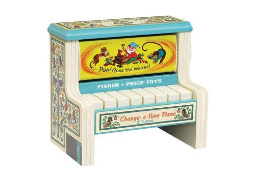 Schylling Fisher Price Change A Tune Piano
