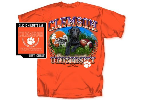 Southern Strut Clemson Helmet And Lab