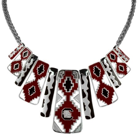 SC Gamecock Aztec Necklace