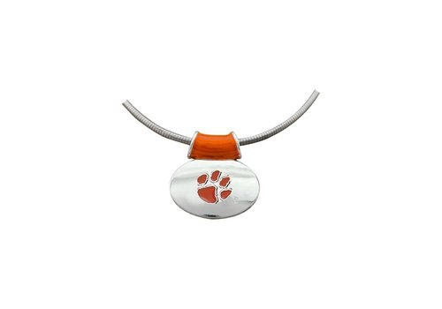 Clemson Tiger Pendant Necklace
