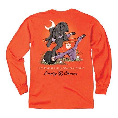 Clemson Black Dogs Orange