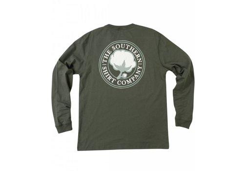 Southern Shirt Southern Shirt Co. Men's Sig Logo LS Tee