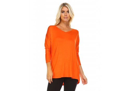 Corner Clothing Jersey V-Neck Tunic