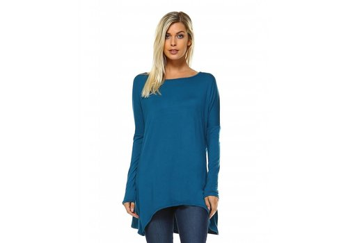 Corner Clothing Asymmetrical Side Tunic