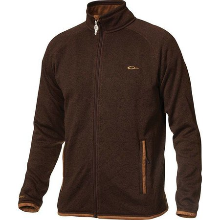 Knitted Fleece Full Zip