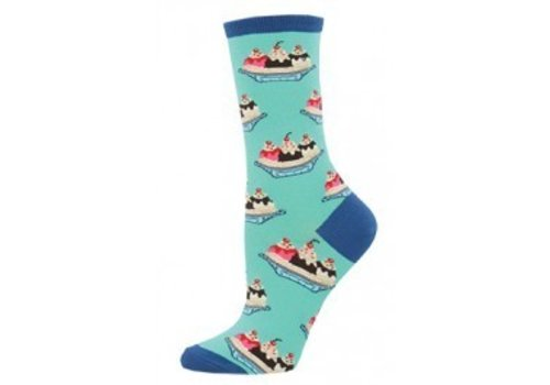 SockSmith Banana Split Crew Sock