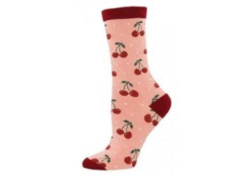 SockSmith Cherry Crew Sock