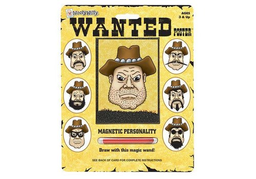 Playmonster Wanted Poster