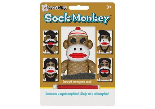Playmonster Sock Monkey Wooly Willy