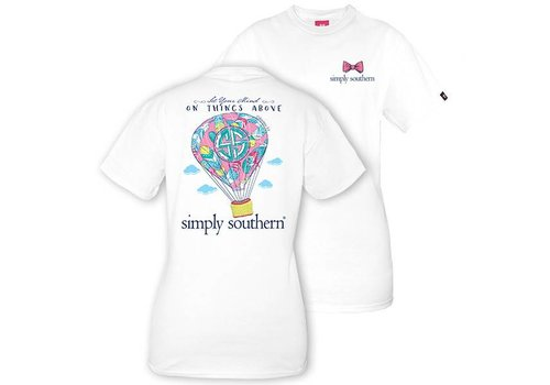 Simply Southern Simply Southern Preppy Air Balloon T-shirt