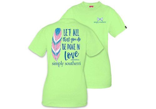 Simply Southern Youth Simply Southern Done in Love T-shirt
