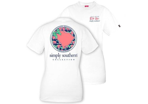 Simply Southern Youth Simply Southern SC T-shirt