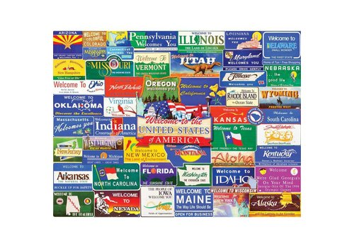 Welcome to America 1000 PC JIGSAW PUZZLE