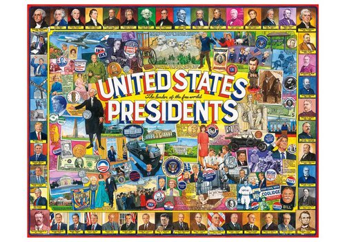 US Presidents Collage 1000 PC JIGSAW PUZZLE