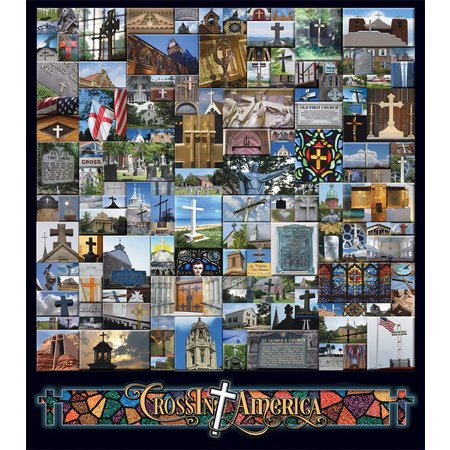 Crossin America 1000 PC JIGSAW PUZZLE
