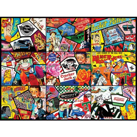 Pop Art 1000 PC JIGSAW PUZZLE