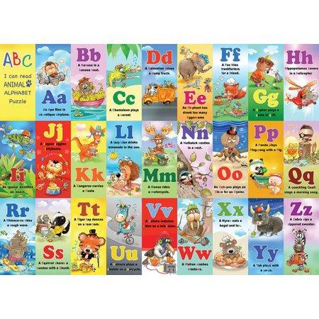 Animal Alphabet 24 PC KIDS JIGSAW PUZZLE