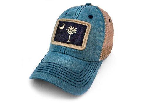 SC Flag Patch Trucker Hat