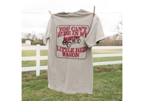 Old South Old South Little Red Wagon T-shirt Chambray