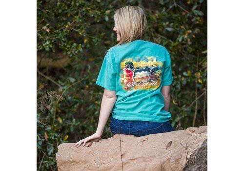 Old South Old South Wood Duck T-shirt Seafoam