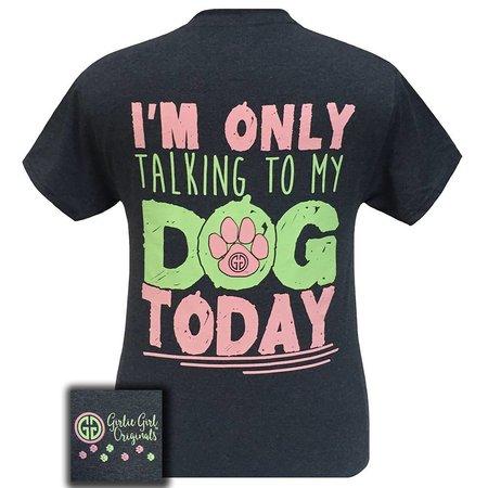 Girlie Girl | Dog Today Heather Navy