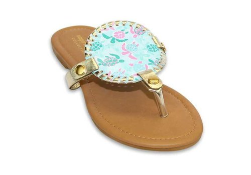 Simply Southern Simply Southern Sandal with Removable Disk for Monogramming