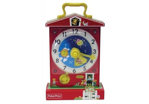 Schylling FISHER PRICE CLASSIC MUSIC BOX TEACHING CLOCK