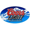 Ande Rooney Coor's Light Oval Tin Sign