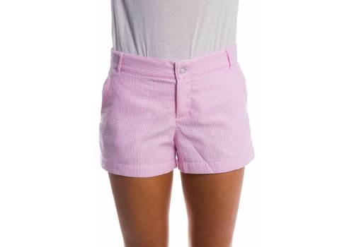 Lauren James Seersucker Poplin Short