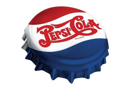 Ande Rooney Pepsi® Cap Die-Cut Tin Sign