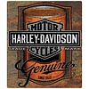 Ande Rooney Harley Davidson® Oil Can Label Tin Sign