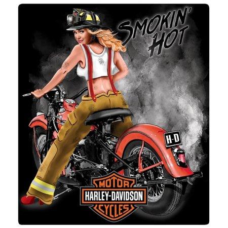 Harley Davidson® Smokin' Hot Tin Sign