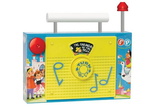 Schylling Fisher Price TV Radio