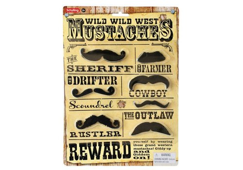 Schylling Wild Wild West Mustache