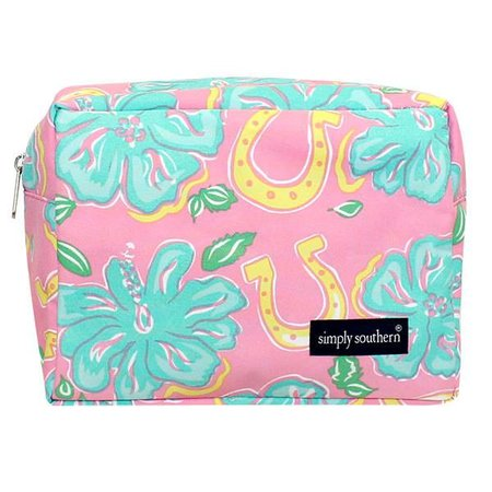 Simply Southern Hibicus Cosmetic Bag