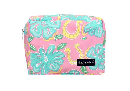 Simply Southern Simply Southern Hibicus Cosmetic Bag