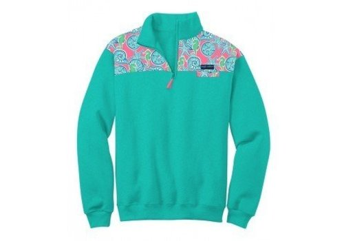 Simply Southern Simply Southern Pullover Seashell Cyan