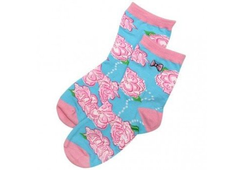 Simply Southern Simply Southern Socks Roses