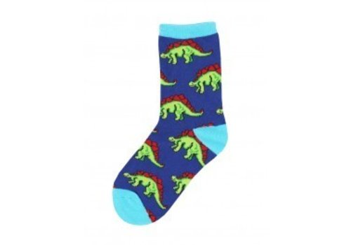 SockSmith Leggo My Stego Navy Youth Sock