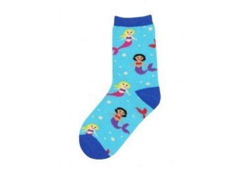 SockSmith Mermaid You Look Blue Lagoon Youth Sock