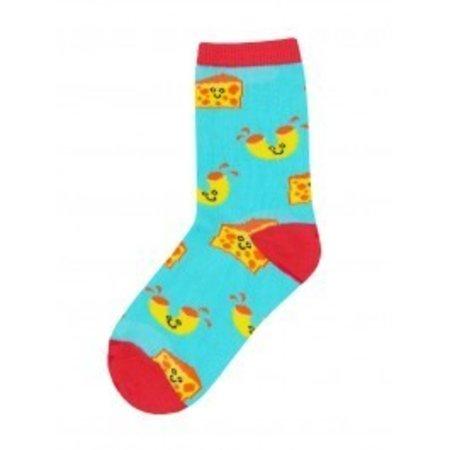 Mac N' Chesse Bright Blue Youth Sock