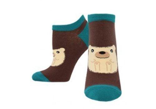 SockSmith Hedgie Ankle Sock Brown